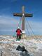 Na vrcholku Hohe Veitsch když není sníh