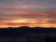 Západ slunce za Nízkými Tatrami