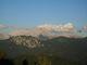 Centrální část Kamniškich a Savinjskich Alp. Grinotve, Kočna a pod. od Domu na Kofcach