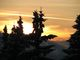 Západ slunce nad Martinkami