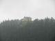Waldeggerhaus v dešti z posedu (přitaženo teleobjektivem). Závěrem jsme tam dali nějaké pivka a guláš