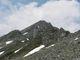 Vzadu kopa šutrů Reaisseck (2965m)